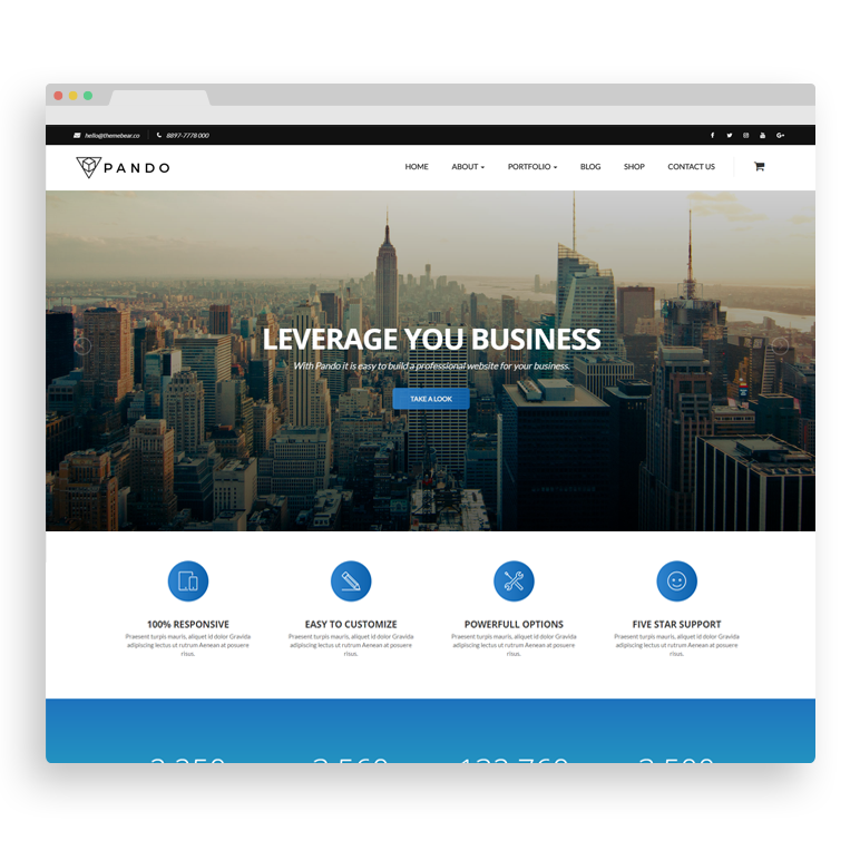 Pando Website Builder