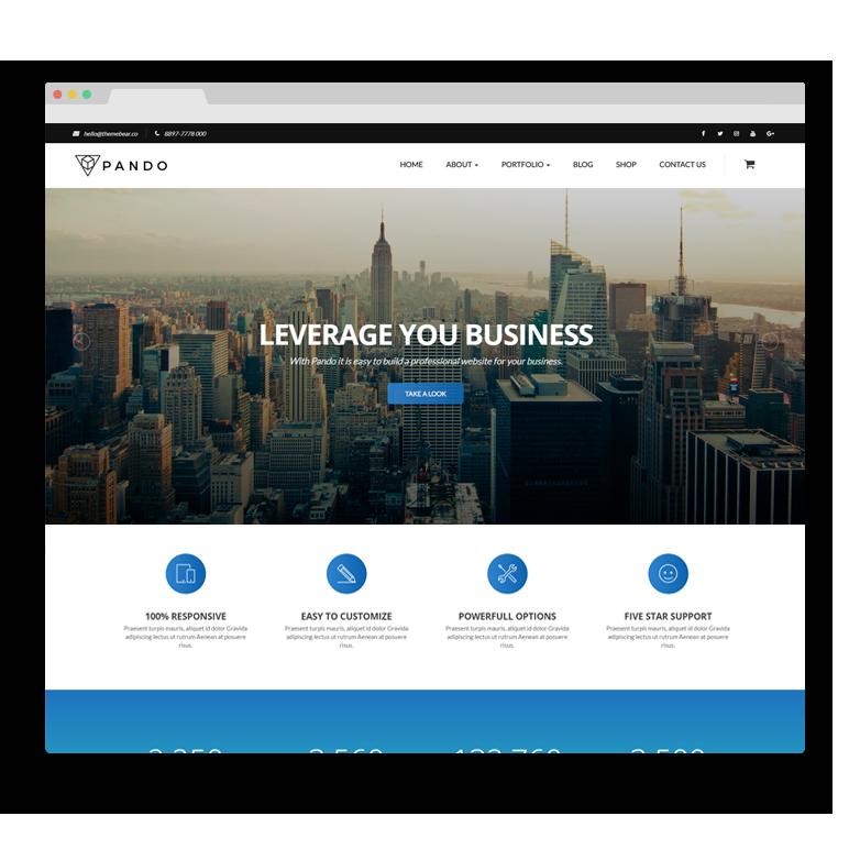 05c69132d60 Pando Website Builder - ThemeBear - WordPress Themes